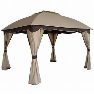 pavillons et tonnelles pas cher maison loisirs eleclerc With lovely rideaux pour tonnelles exterieur 9 tonnelle bois pas cher