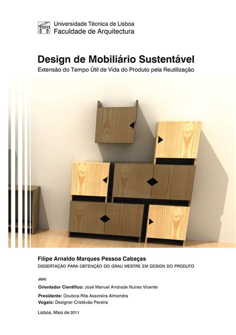 sustainable furniture design thesis  behance