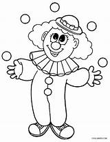 Clown Coloring Clowns Circus Drawing Clipart Coloriage Printable Preschoolers Cool2bkids Fasching Crafts Carnaval Colorir Gesichter Drawings Cartoon Sheets Paint Patterns sketch template
