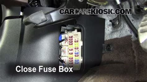2005 Infiniti Fx45 Fuse Box by Interior Fuse Box Location 2009 2012 Infiniti Fx35 2010