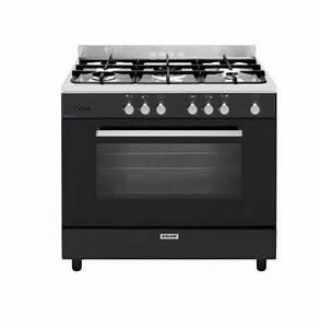Cuisiniere Gaz 5 Feux : glem cuisini re gaz 130l 5 feux black pearl ge960cmbk ~ Edinachiropracticcenter.com Idées de Décoration