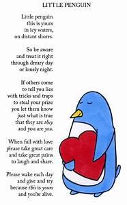 Little Penguin Poem | Happy Feet | Pinterest