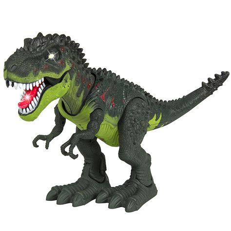 kids toy walking  rex dinosaur toy figure  lights