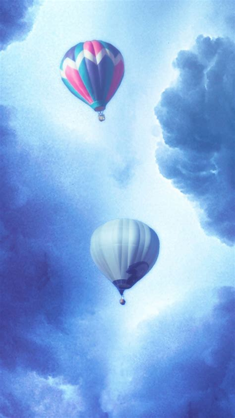 cool balloons iphone 6s wallpapers whispering air balloon iphone 6 wallpaper hd