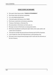 business plan With sole trader business plan template