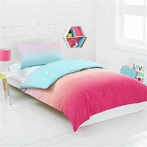 Rainbow reversible quilt cover set single bed kmart for Bed covers for single beds