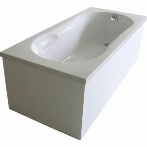 Waschbecken Aufsatz Für Badewanne : badewanne nixe wei inkl wannentr ger und ablaufgarnitur chrom kaufen bei obi ~ Markanthonyermac.com Haus und Dekorationen