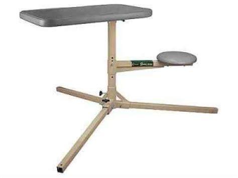 caldwell stable table  steel frame adjustable padded