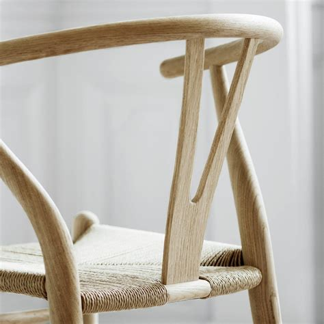 ch wishbone chair  hans  wegner  carl hansen