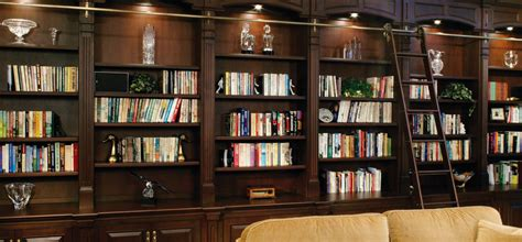 Bookcases For The Home by 15 Best Collection Of Home Library Shelving