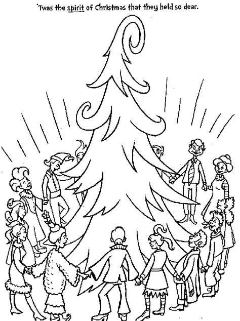 christmas  grinch coloring pages  kids