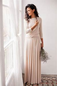 long sleeve evening dress champagne maxi dress long With long sleeve maxi dress for wedding