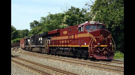 Pennsylvania Heritage Unit NS 8102 on 39G, NS 956 OCS ...