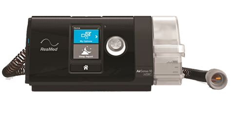 resmed airsense  elite cpap machine  humidifier