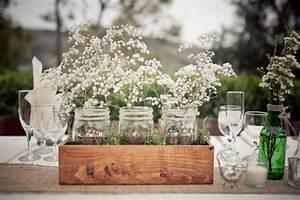 Centre De Table Champetre : inspirations mariage fleurs des champs ~ Melissatoandfro.com Idées de Décoration
