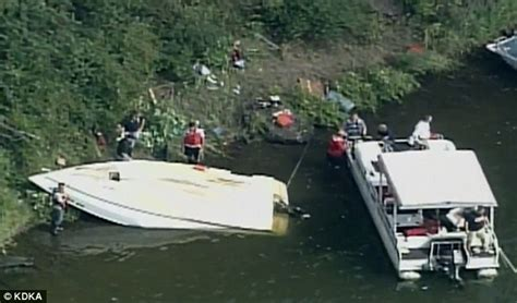 Boating Accident James River by Pittsburgh Boat Flips On Allegheny River That Kills 3