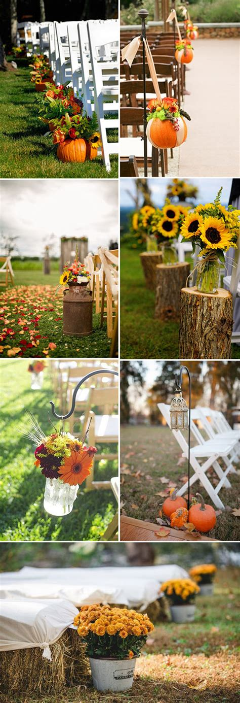fall  love    great fall wedding ideas