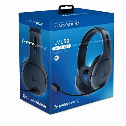 Pdp Headset Wireless Ps4 Lvl50 Gaming Stereo