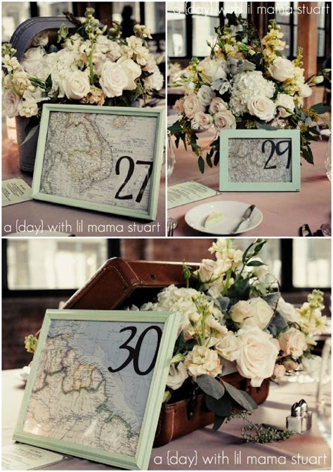 25 best ideas about travel centerpieces on pinterest