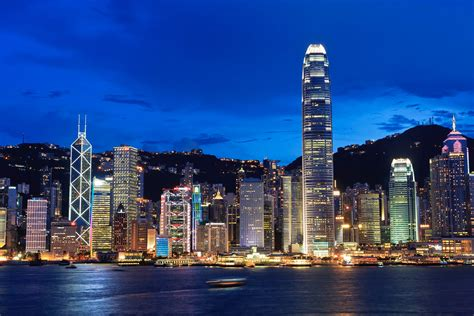 night scene  victoria harbour hong kong  tallest bui flickr