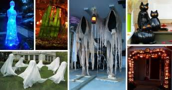 halloween decorations outdoor diy 50 best diy halloween