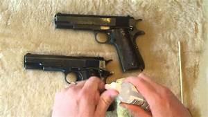 Old Colt 1911 Vs  Colt 1911a1