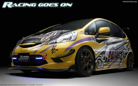 custom honda fit wallpaperbackground images unofficial