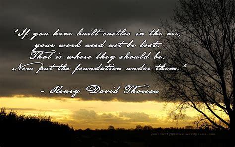 Self Reliance Quotes Henry David Thoreau