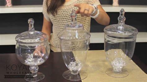 decor glass dessert table decor glass apothecary jars doovi