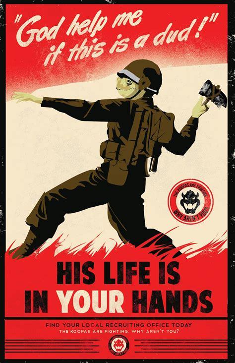 affiche bureau humour gallery posters anti mario propaganda