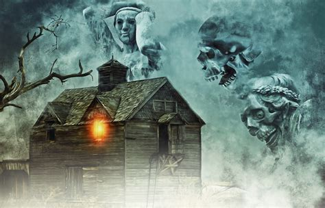 dark evil scary horror macabre fantasy wallpaper