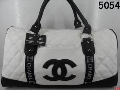 door sold chanel inspired duffle bag   real leather   beautiful bag