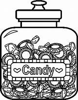 Coloring Candy Pages Printable Sheets Candyland Jars Jar Bing Printables Character Land Canopic Lollipops Adults Fruits Coloringpages101 Draw Houses Templates sketch template