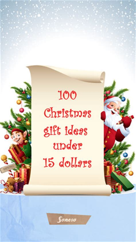 honemade christmas gifts under fifteen dollars 100 gift ideas 15 dollars 1 0 app for iphone lifestyle app by rogobete
