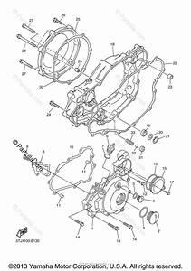 Yamaha Motorcycle 2005 Oem Parts Diagram For Crankcase