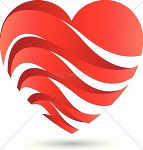 Süße Herz Bilder : logo herz herzchen wellen lizenzfreies foto 13600060 bildagentur panthermedia ~ Frokenaadalensverden.com Haus und Dekorationen