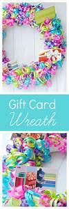 Creative Gift Card Ideas: Gift Card Wreath – Fun-Squared