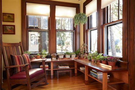 craftsman style window treatments  ideas