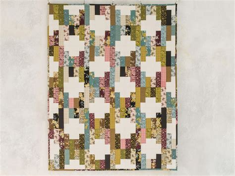 pick  sticks petal noir quilt kit  monique jacobs