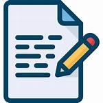 Key Points Writing Icon Write Writer Help