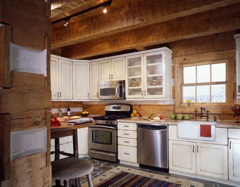 log home kitchen cabinets log cabin kitchen kitchen ideas home home 7153