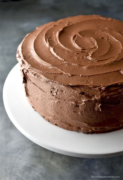 chocolate buttercream frosting recipe  tips