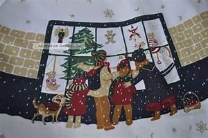 Apelt Tischdecke Weihnachten : gro e runde tischdecke tafeltuch weihnachten wir warten aufs christkind ~ Sanjose-hotels-ca.com Haus und Dekorationen