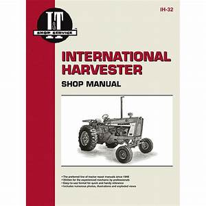International Harvester Service Manual 104 Pages  Does Not