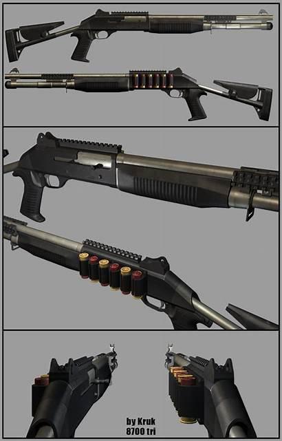 Benelli Shotgun M4 3d Weapon Barrel Wallpapersafari