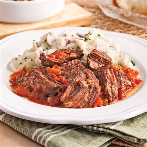 cuisine à l italienne boeuf braisé à l 39 italienne recettes cuisine et