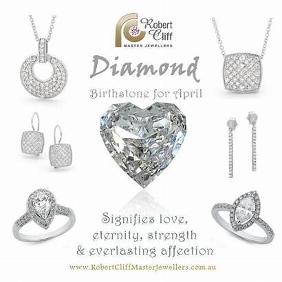 April Stone Month Diamonds Diamond Birthstone Birthstones