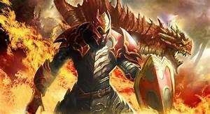 Dota 2 Wallpapers: Dota 2 Art - Dragon Knight by longai