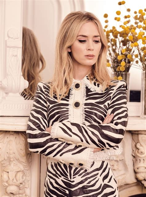 Emily blunt on the late late show with craig ferguson (youtube.com). EMILY BLUNT in Harper's Bazaar Magazine, UK March 2020 - HawtCelebs