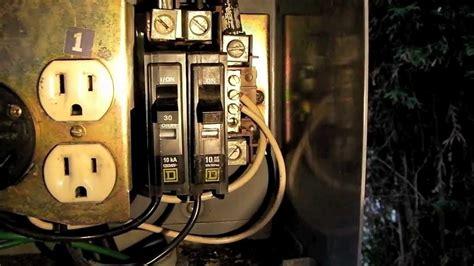 How Replace Circuit Breaker Power Pedestal